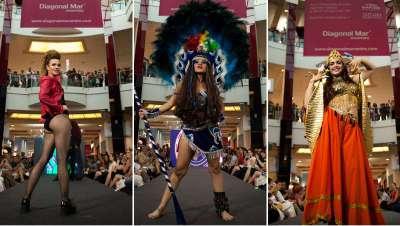 Fantasía y magia a escena durante la gala Cazcarra Crea 2017