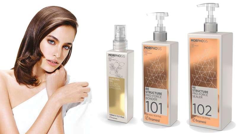 Framesi lanza nuevos productos al mercado para el bienestar del pelo