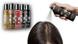 A empresa Lisos y Ondas apresenta este spray instantâneo em cinco tons diferentes para oferecer um retoque da raiz à clientela que não tenha tempo de fazer o trabalho técnico correspondente