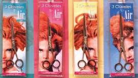 Rendimento de corte, ergonomia e leveza unem-se nas tesouras de cabeleireiro AIR