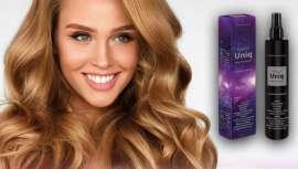Nesta linha de tratamento capilar, composta por Triple-X Acción  e Triple-X Diamond, alta tecnologia, anti quebra, une-se o multifuncional Triple-X Uniq Hair Treatment