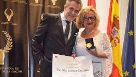 Se trata de un reconocimiento a la trayectoria de Carmen Cazcarra, directora y fundadora de Cazcarra Image Group