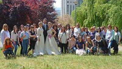 Juan Ramírez imparte una clase magistral en protocolo de bodas