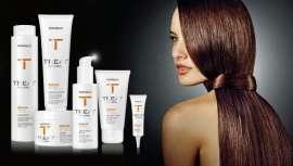 A linha foi formulada especialmente para regenerar o cabelo e recuperar o seu aspeto são e natural