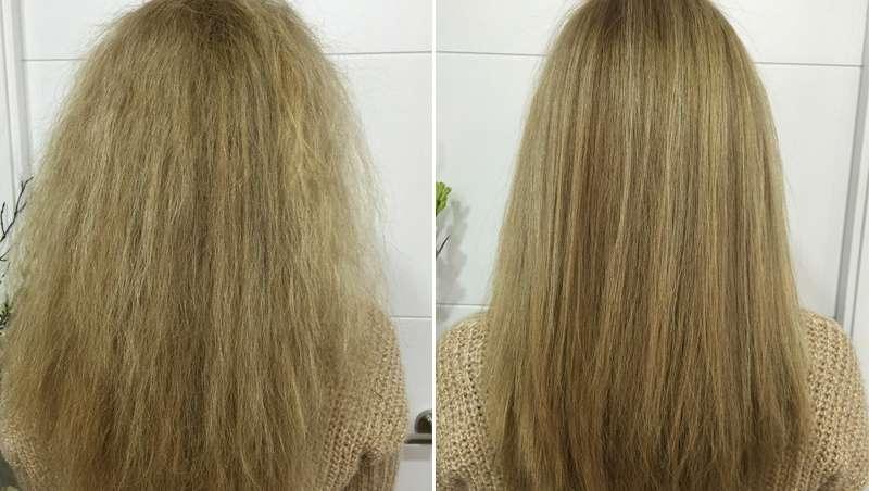 Enzimoplastia, lo último para alisar y rejuvenecer, sin química, el pelo