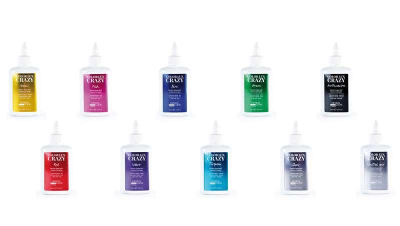 Color Lux Crazy, coloración directa en gel sin oxidación y sin amoníaco