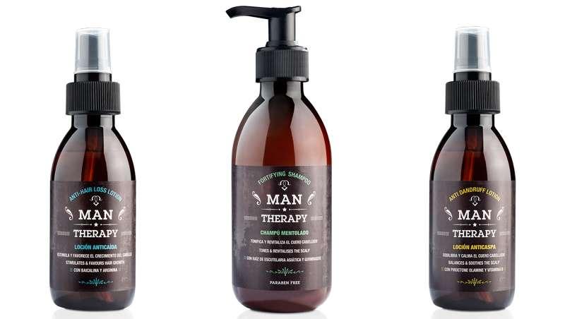 Man Therapy, nova gama masculina com extratos de origem botânica
