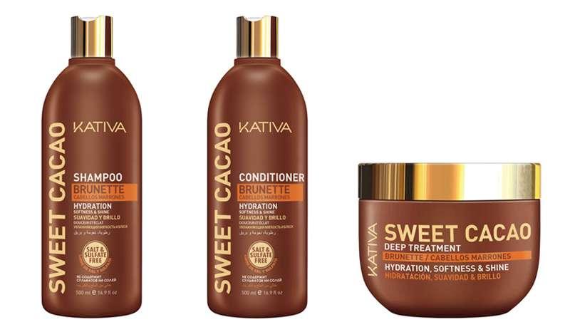 Sweet Cacao de Kativa, la fuerza del cacao aplicada al cabello