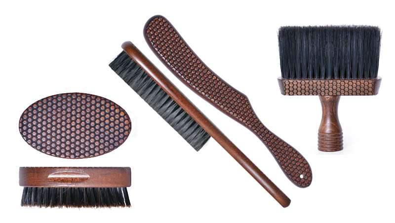 Cabello, barba y bigote cuidados con los nuevos cepillos Beehive