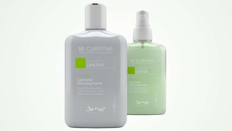 Be Curativa, tratamiento al aceite de oliva para cuero cabelludo sensible