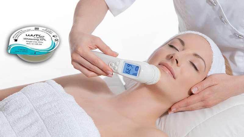 O último em tecnologia para a despigmentação chama-se Whitening de Wishpro