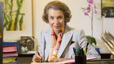 Muere Liliane Bettencourt, heredera del imperio L'Oréal
