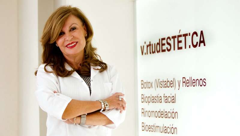 Virtudes Ruiz: 'El uso de tecnología plasma plexer para las lesiones del fotoenvejecimiento es toda una novedad'