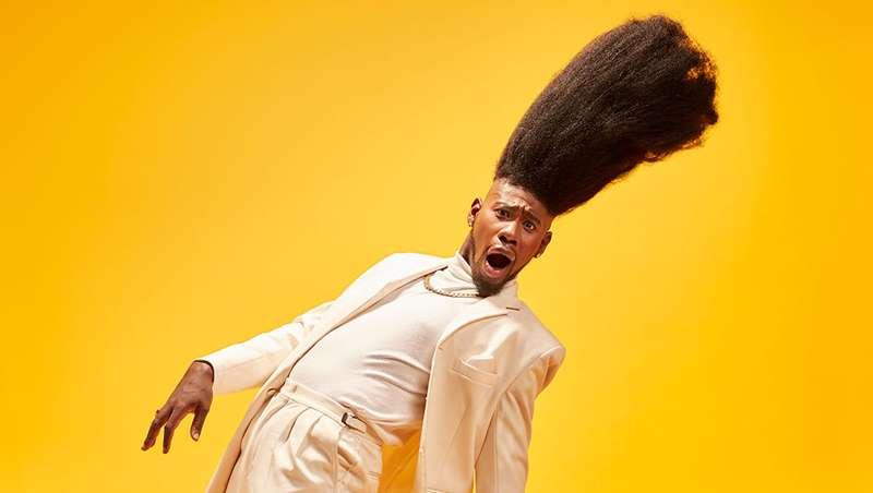 Benny Harlem, o homem com o tupé mais alto do mundo