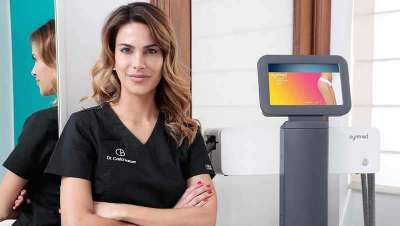 La doctora Carla Barber incorpora Symmed, lo último en radiofrecuencia y mesoterapia virtual