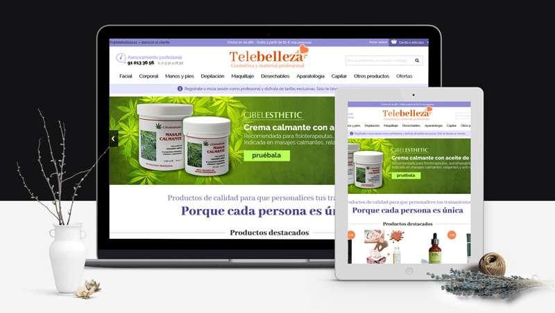 Triunfa la venta on-line y el asesoramiento profesional de la belleza