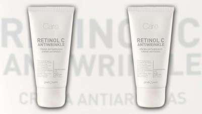 Poderoso efeito antirrugas. Creme Retinol C Antiwrinkle