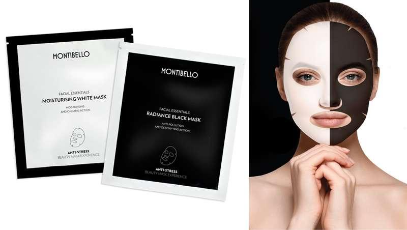 Efecto segunda piel, Black & White Tissue Mask de Montibello