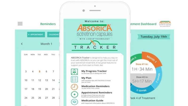 Sun Pharma presenta una app para controlar su tratamiento antiacné