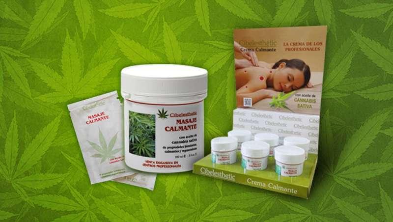 Telebelleza.es presenta la Crema Calmante con aceite de cannabis de Cibelesthetic que triunfa en los centros de fisioterapia y masajes