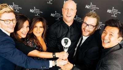 Los British Hairdressing Awards premian al equipo artístico de la Rush Academy