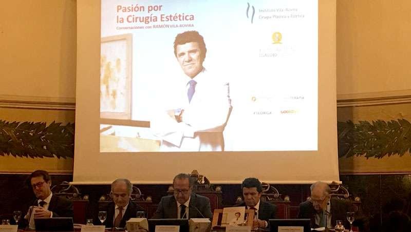 Presentación del libro del doctor Ramón Vila Rovirá