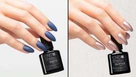 CND revoluciona el sector de las uñas con esta nueva colección de Top Coats con efectos mate, perlado y purpurina
