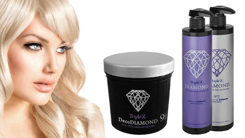 Triple-X DecoDiamond 9 tones: la simbiosis ideal entre decoloración y protección capilar