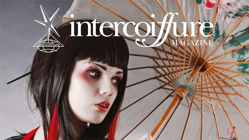 Intercoiffure Mondial plasma su visión global sobre la belleza en su revista 2018