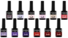 El invierno Masglo es Masglo Plus. 12 nuevos e impactantes tonos añadidos a su ya de por sí amplia gama de esmaltes semipermanentes para una experiencia cromática única