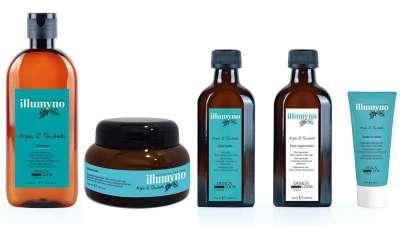 A nova linha Illumyno, com os benefícios regeneradores dos óleos de argano e tsubaki