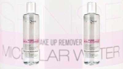 Micellar Water Sense de PostQuam Professional, Makeup Remover para uma pele profundamente limpa