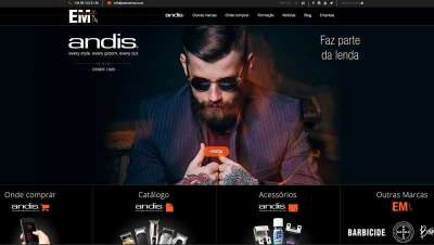 Andis estreia web para Espanha e Portugal