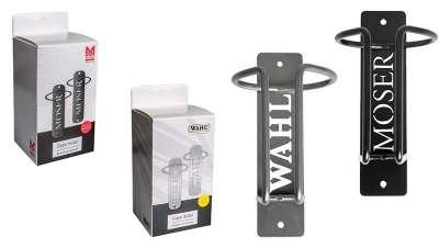 Colgador para clippers de Wahl y Moser, el accesorio ideal en tu salón