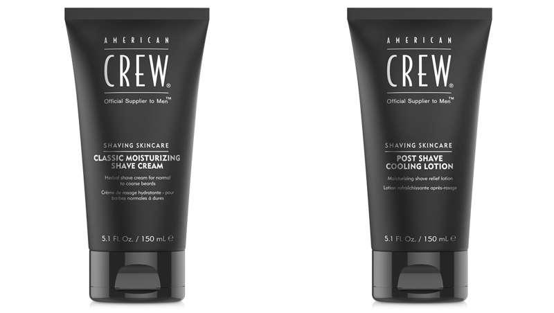 Nueva crema y loción de afeitado de la línea Shaving Skincare, de American Crew