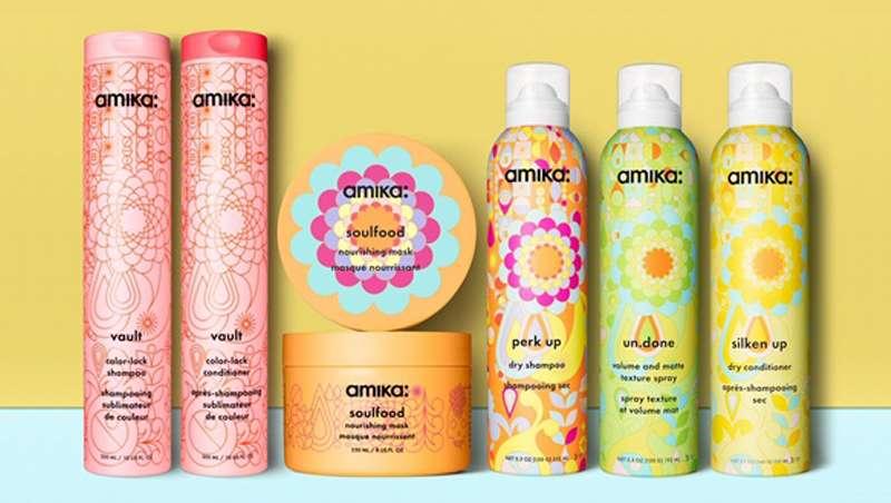 Amika relanza la imagen de sus productos para este año 2018