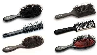 Uma escova Termix para desembaraçar todo o tipo de cabelo