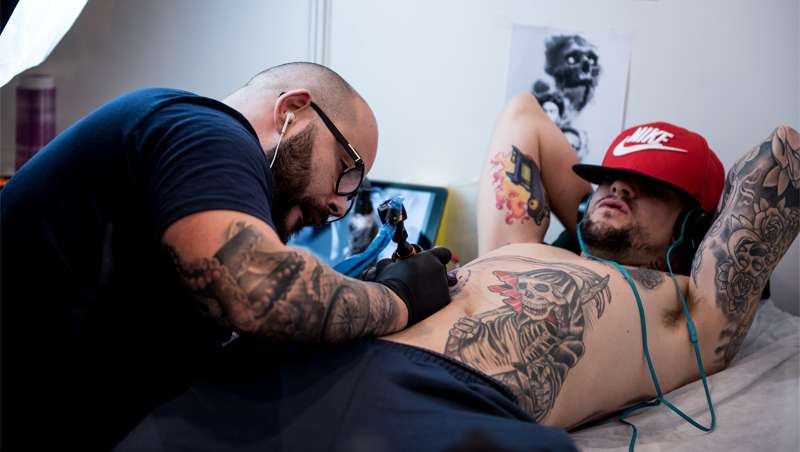 Only Tattoo Barcelona, todo y solo artistas Tattoo
