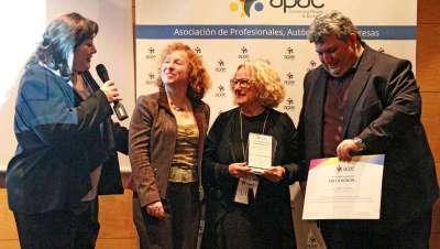 Carmen Cazcarra, Premio Empresarial en el Congreso APAE Fem Empresa 2018