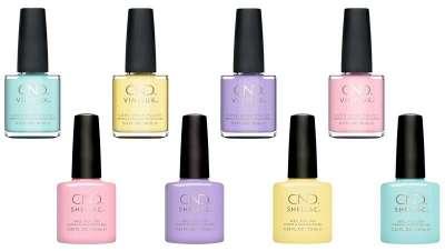 Nueva colección en tonos pastel Chic Shock de CND