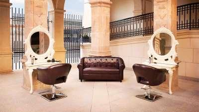 Salon Royale, glamour con un aire retro, para peluquerías exclusivas
