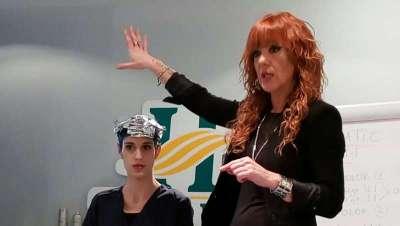 Laura Moreno, alma de peluquera