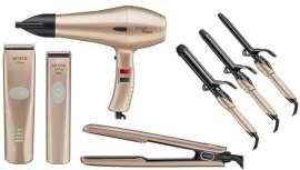 Rose Gold ¡te enamorará! El nuevo color con el que Moser adorna algunas de sus principales herramientas profesionales para el peinado y añade un detalle exquisito e irresistible a su oferta, que este año promete muchas más novedades