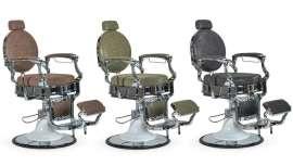 Perfect Beauty da a conocer las características técnicas de este nuevo modelo de sillón de barbero, disponible en varios colores: marrón, verde y negro