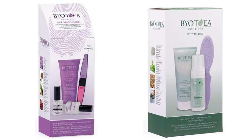 Belleza, bienestar y protección para manos y pies con los nuevos kits de Byotea