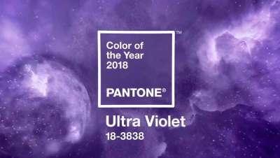 Ultra Violet, o impactante violeta de Pantone para o ano de 2018