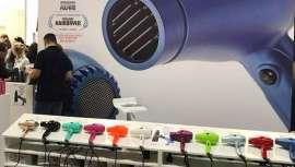 O moderno secador italiano obteve um grande êxito na feira In Beauty de Lisboa