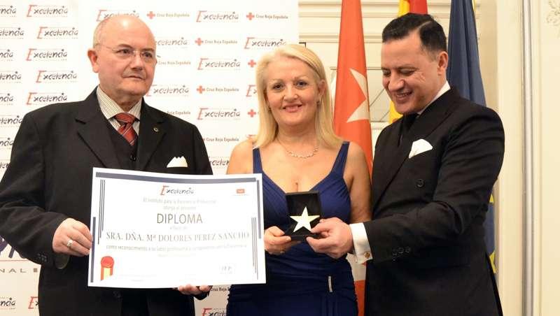 Mª Dolores Pérez Sancho, Pretty Clinic, Estrella de Oro a la Excelencia Profesional