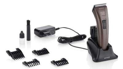 Nova máquina de corte Genio Pro para trabalhos elaborados e muito completos em barbearia