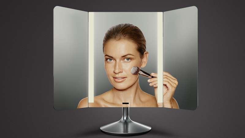Espejos con visor, belleza desde cualquier ángulo